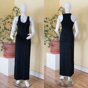 Barneys New York Black Maxi Dress